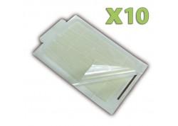 x10 Pièges collants pour Souris