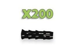 x200 Injecteurs bois - Diamètre 9.5mm!