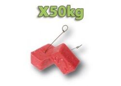 x50kg Raticide blocs égouts avec crochet de fixation!