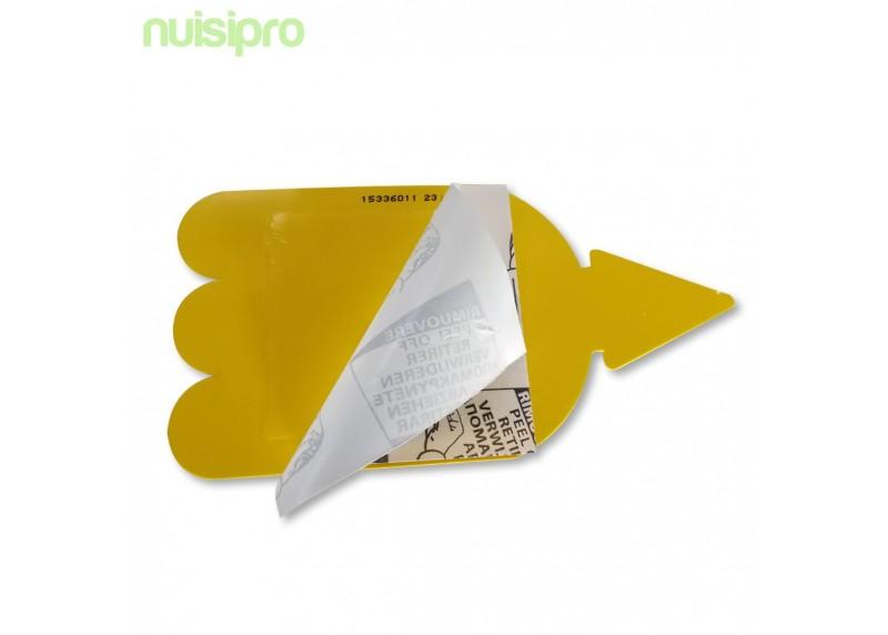 x3 pièges collant anti insectes pour les plantes - Nuisipro