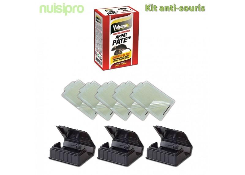 kit complet pour lutter contre les souris nuisipro. Black Bedroom Furniture Sets. Home Design Ideas