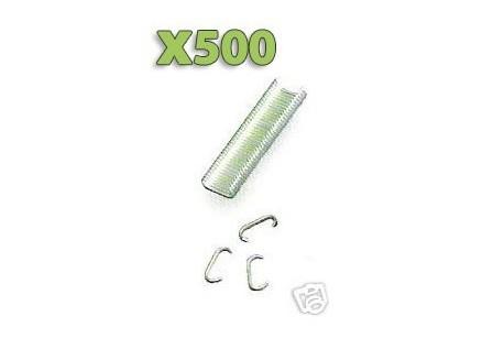 x500 Agrafes pour Fixation filet Pigeons