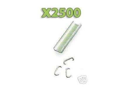 x2500 Agrafes pour Fixation filet Pigeons