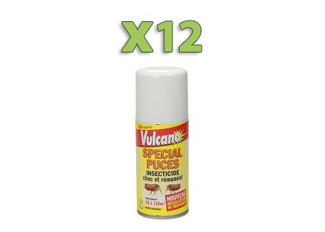 x12 Fumigènes Anti Puces - Punaise de lit!