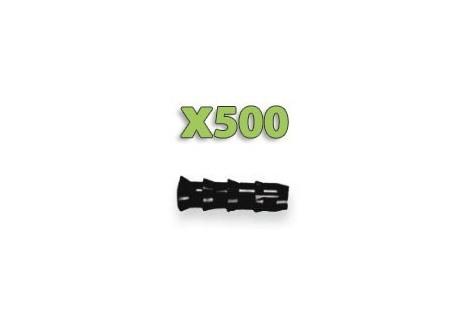 x500 Injecteurs bois - Diamètre 9.5mm!