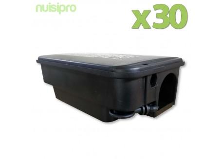 x30 Boîtes Rat Sécurisées avec clé!