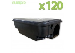 x120 Boîtes Rat Sécurisées avec clé!