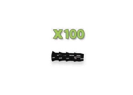 x100 Injecteurs bois - Diamètre 9.5mm