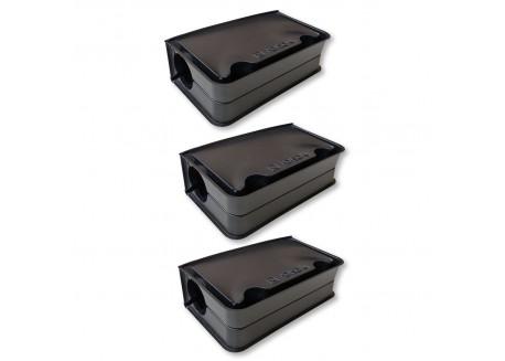x3 Boîtes appâts pour lutter contre les souris