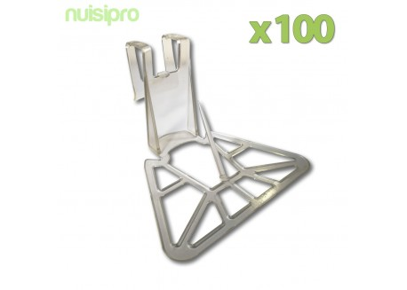 x100 OBTURACLIPS, bouche tuile
