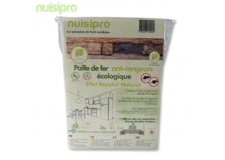 Paille de fer anti rongeurs écologique (Innovation NUISIPRO)