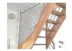 Filet protection Escalier-Rambarde